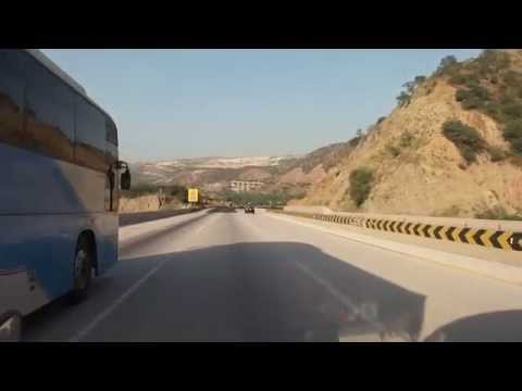 Beauty of Salt Range - Kallar Kahar - M2 Motorway - Pakistan 1 Nov 2010 HD