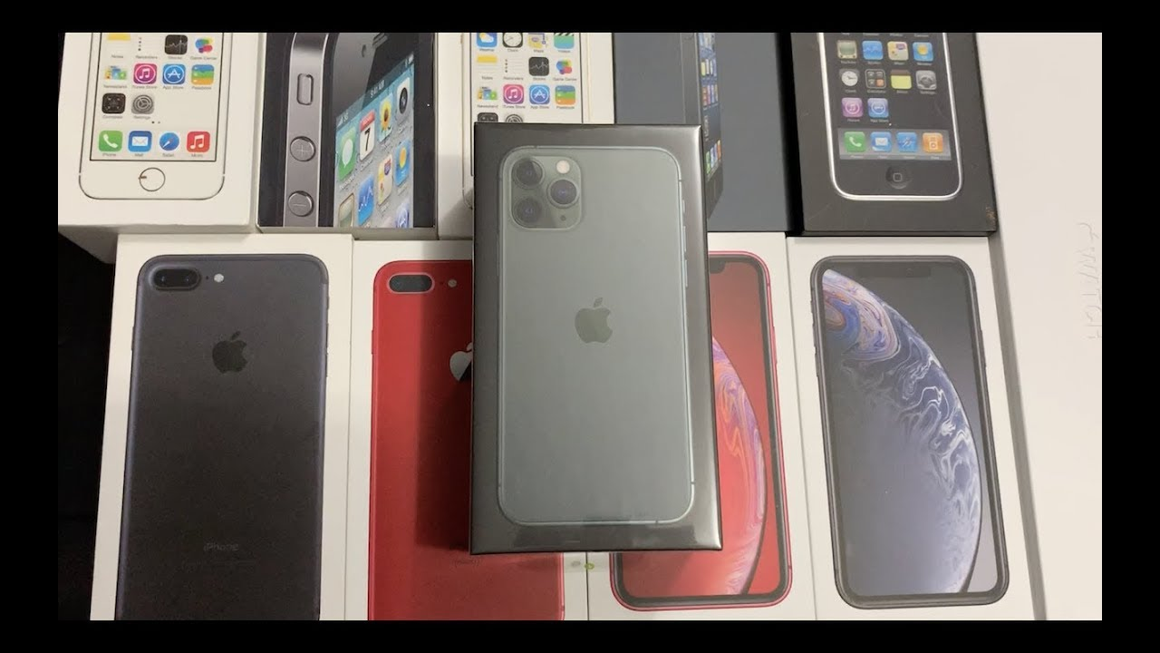 iPhone 11 Pro Midnight Green Unboxing - YouTube