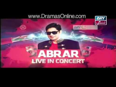 Abrar-Ul-Haq Live in Concert – 30th April 2016