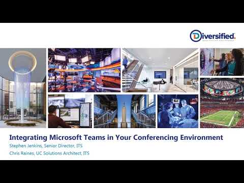 Navigating Microsoft Teams in Support of Conference Room Requirements