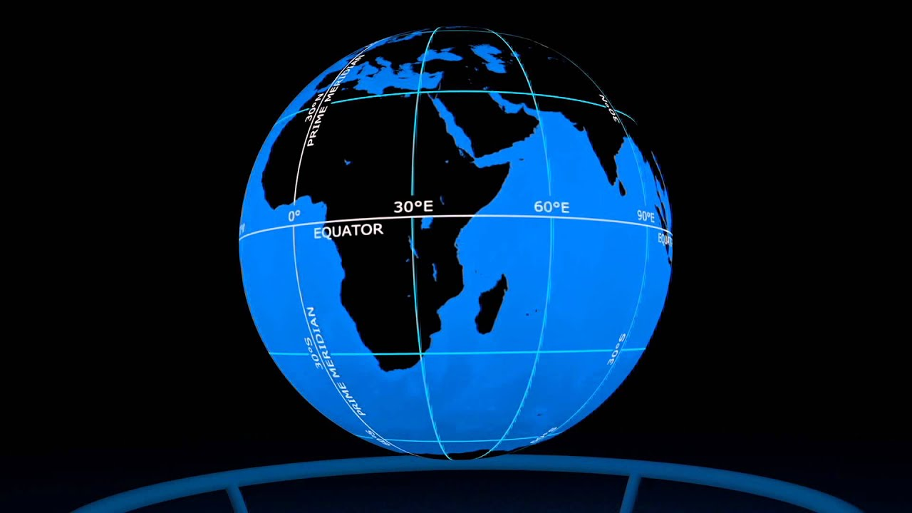 Latitude And Longitude Dataset For Science On A Sphere