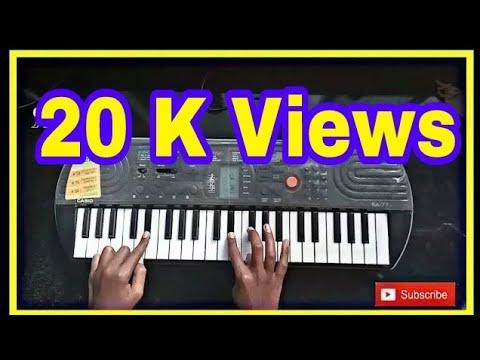 Vesavchi paru nesli go song piano tutorial (R.P TUTORIAL)