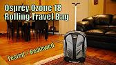 Best Recycled Courier Bag Osprey Resource Elroy Courier Bag Youtube