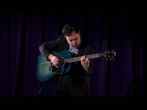 Gibson Limited J-45 Denim  •  SN: 12407019 (Blue In Green)