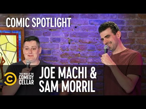 Why Drink When You Could Play Tennis? - Sam Morril & Joe Machi - This Week at the Comedy Cellar
