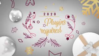Merry Christmas & Happy New Year 2020 After Effects template from hive