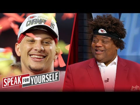 Whitlock is proud of Patrick Mahomes & the Chiefs' comeback win vs 49ers | NFL | SPEAK FOR YOURSELF