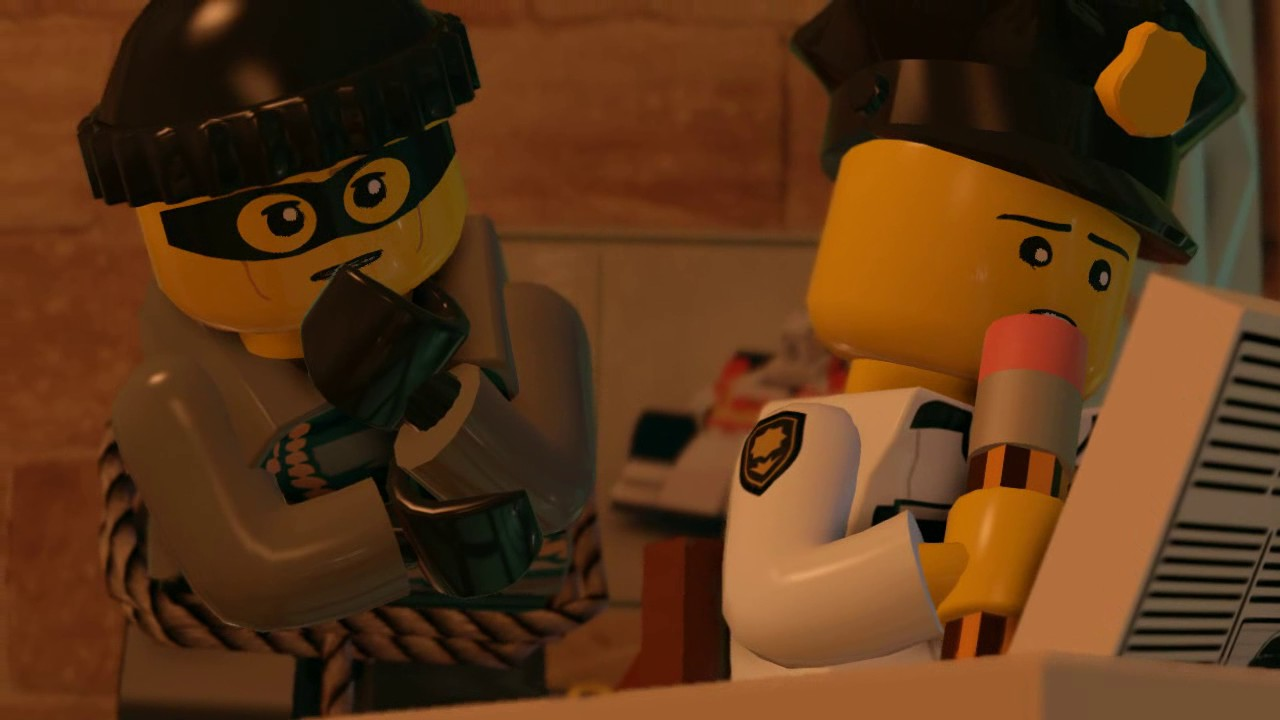 Lego city undercover part 13 back on the case hd for Case lego city