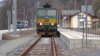 Trať č.293 | 163.083-9 DKV Olomouc zkušební jízda | viz komentář