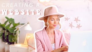 PERSONAL BRANDING | How to make your own website! ✨