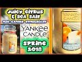 Yankee Candle - JUICY CITRUS & SEA SALT - NEW 2018 Spring Fragrance In-Depth Review