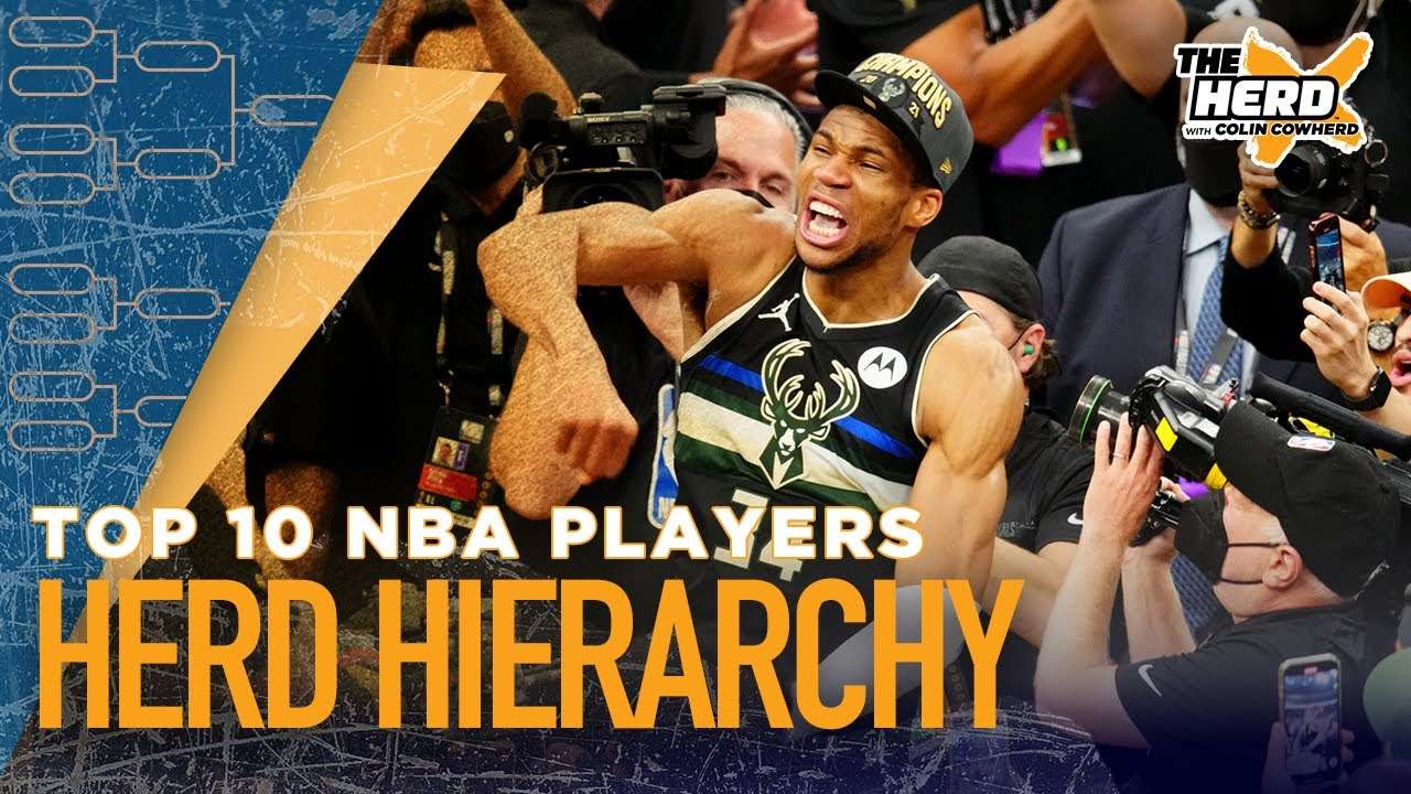 Colin Cowherd ranks the best NBA players heading into next season   NBA   THE HERD