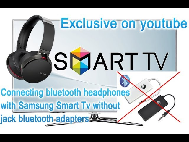 Connecting Bluetooth Headphones With Samsung Smart Tv Without Any Adapters Secret Menu Exclusive Youtube