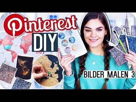 4 PINTEREST DIY's BILDER MALEN – Teil 3 // I'mJette