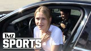 Mallory Edens tries to spell Giannis Antetokounmpo | TMZ Sports