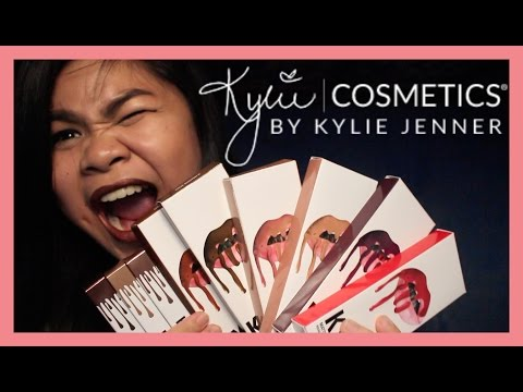 KYLIE LIPKITS AND METALS SWATCH & REVIEW + GIVEAWAY