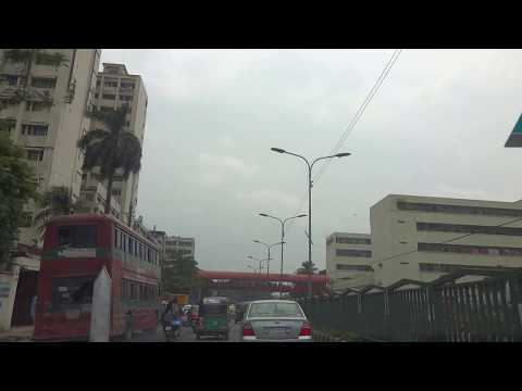 Dhaka City View  -  (Panthapath to Shahbagh) - Bangladesh