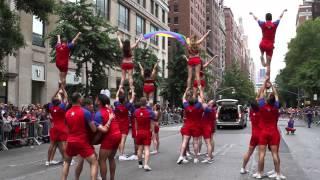 Cheer New York - NYC Pride 2015