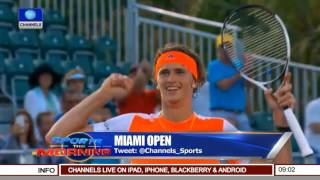 Sports This Morning: Updates From Miami Open 29/03/17