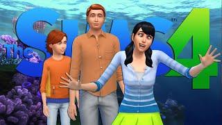 Sims 4 CAS // Character 2 Human // Marlin, Nemo & Dory