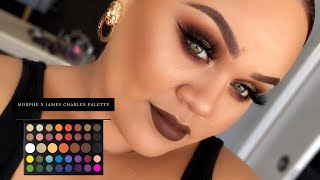 JAMES CHARLES X MORPHE PALETTE  MAKEUP TUTORIAL