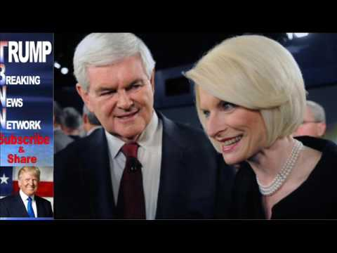 Donald Trump will nominate Callista Gingrich to be Vatican ambassador — but wanted Newt to be on TV