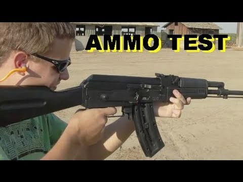 AK47  .22 Caliber Ammo Rapid Fire Test (GSG)  ATA