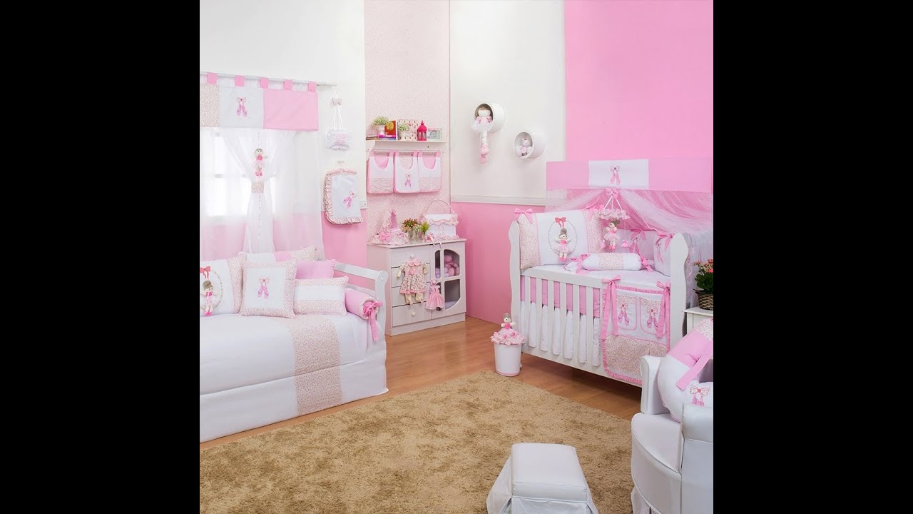 Quarto para Bebê Bailarina Rosa  Ref 42018  YouTube