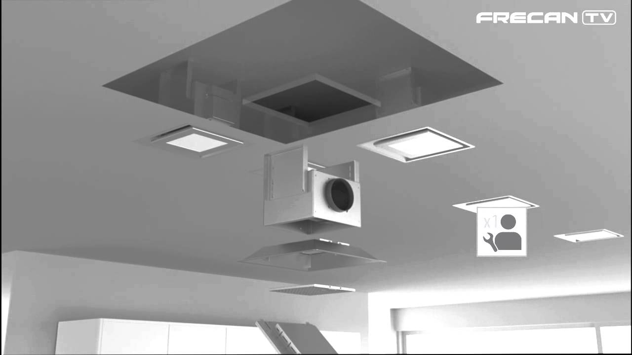 Campana cocina extractora de techo paradigma de frecan for Campana extractora de techo