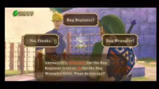 Zelda Skyward Sword Bug Heaven (Bug Wrangler in 1:31)