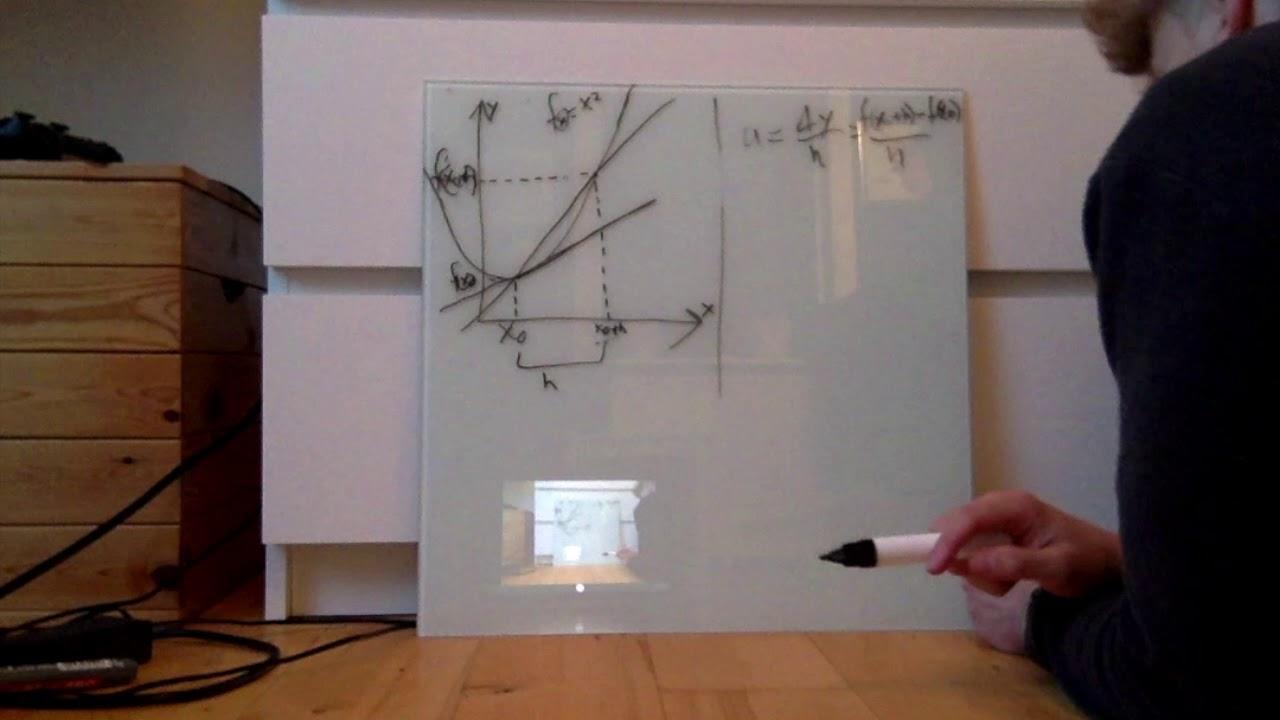 Matematik video 1, differentialregning, sp  1