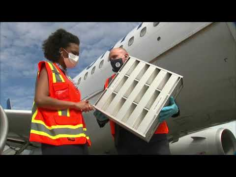 Coronavirus Travel | Exclusive look at United Airlines' new COVID-19 cleaning, safety measures