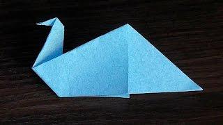 як зробити орігамі з паперу відео птахів