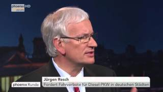 Der VW-Skandal - Ein Totalschaden? - phoenix Runde vom 22.09.2015