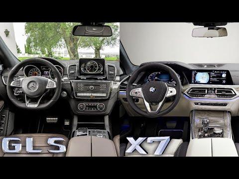 BMW X7 VS Mercedes-Benz GLS - INTERIOR Design