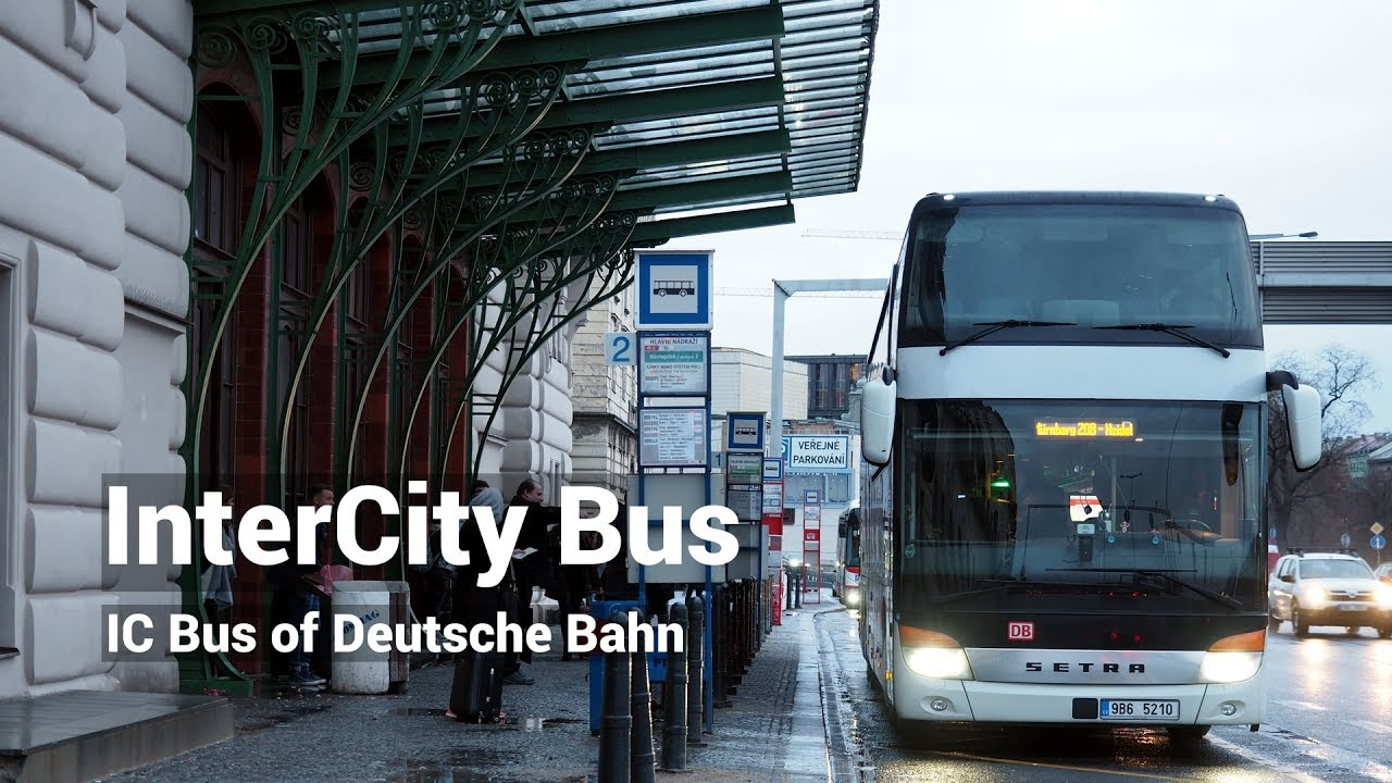 Ic Bus Intercity Bus Deutsche Bahn Youtube