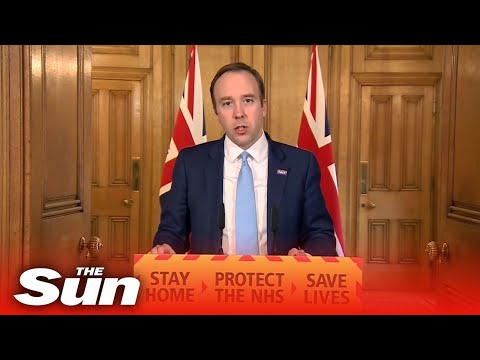 Matt Hancock And Government Officials Give Coronavirus Daily Briefing - Watch Again
