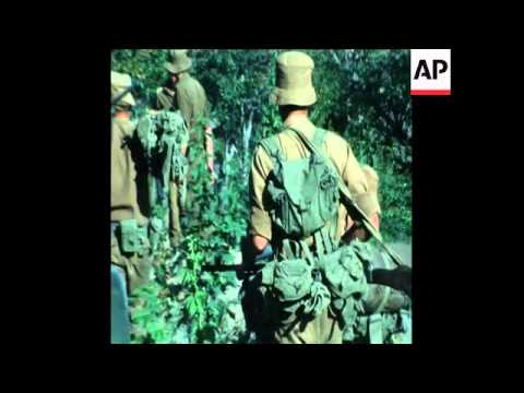 SYND 28 3 76: SOUTH AFRICAN TROOPS WITHDRAWAL FROM SOUTHERN ANGOLA