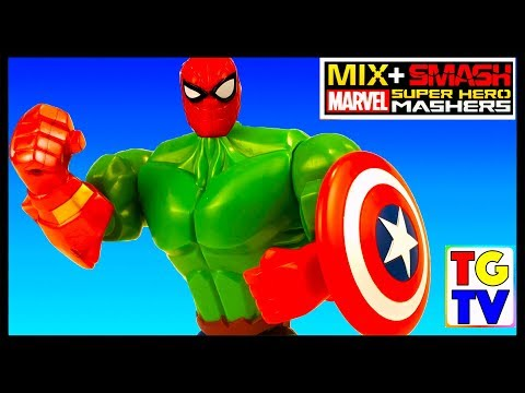 Marvel Super Hero Mashers Best Mash Ups | Mix+Smash