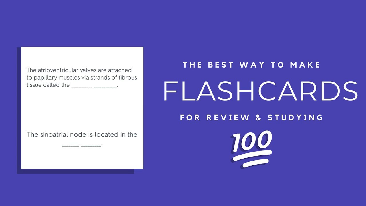 The Best Flashcard Method (USING QUIZLET)