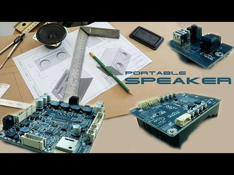 Cool Portable Bluetooth Speaker или  Проект на выходные