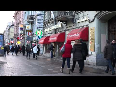 Walking Saint Petersburg / Nevsky Prospeсt | Санкт-Петербург / Невский проспект / весна 2013 года