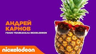 Голос телеканала Nickelodeon   Андрей Карнов