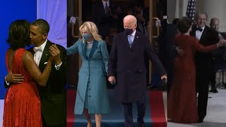 How Biden's Virtual Inaugural Ball Compares to Past Presidents'