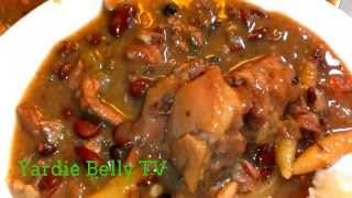 How to Cook The Best Jamaican Stew Peas with Pigtails