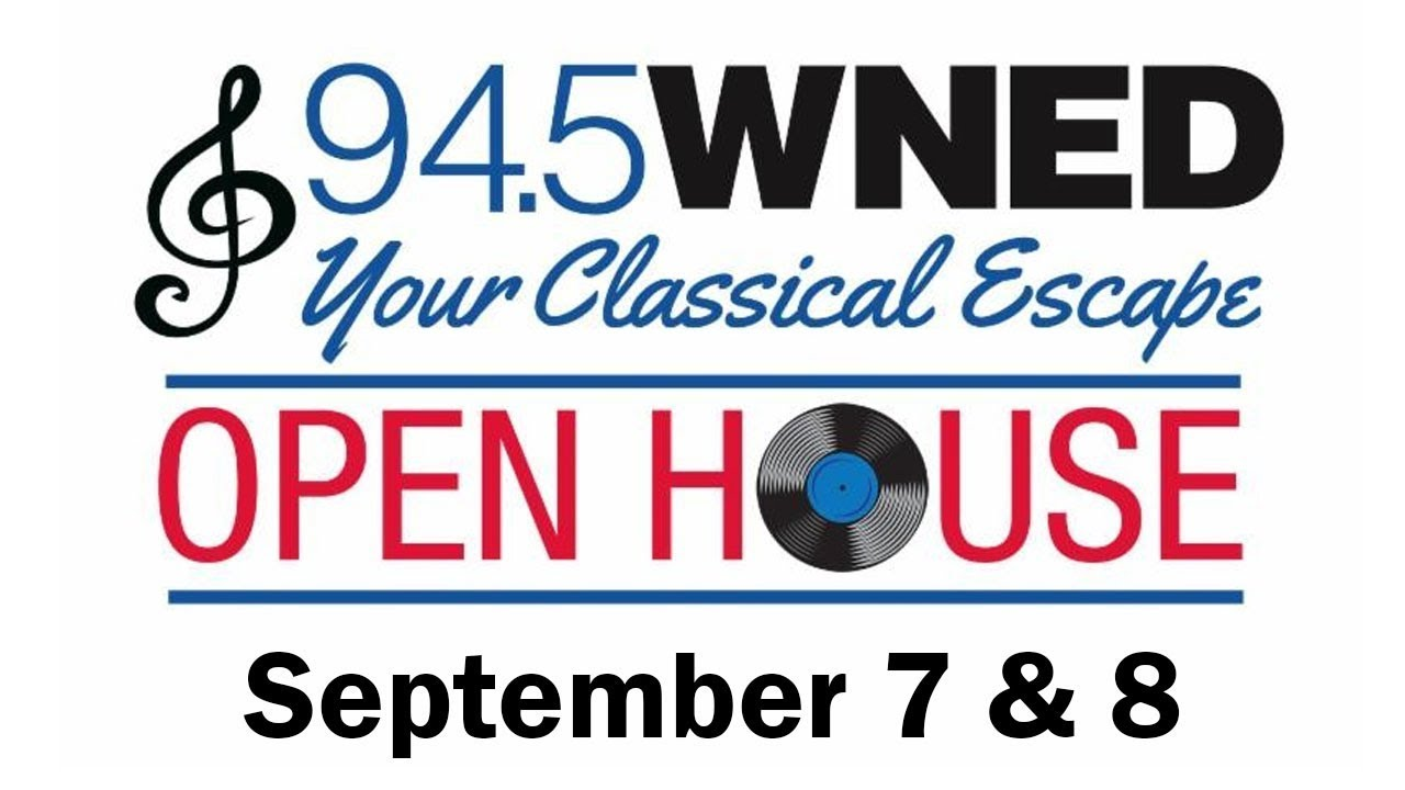 Classical WNED Open House and Album Sale 2018