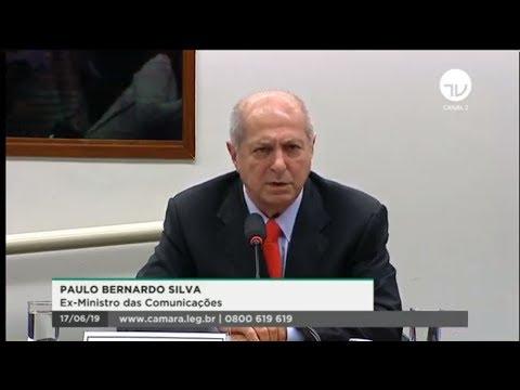 CPI do BNDES - Depoimento do ex-ministro Paulo Bernardo - 17/06/19