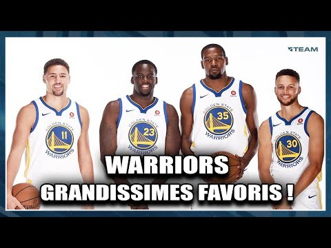 WARRIORS, GRANDISSIMES FAVORIS ! Preview Division Pacific