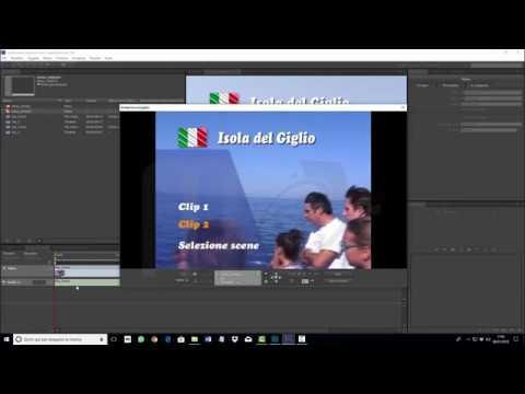 Adobe Encore CS6 - Creare un menù animato