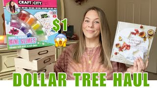 DOLLAR TREE HAUL|NEW|HUGE|AMAZING FINDS|BRAND NAME ITEMS